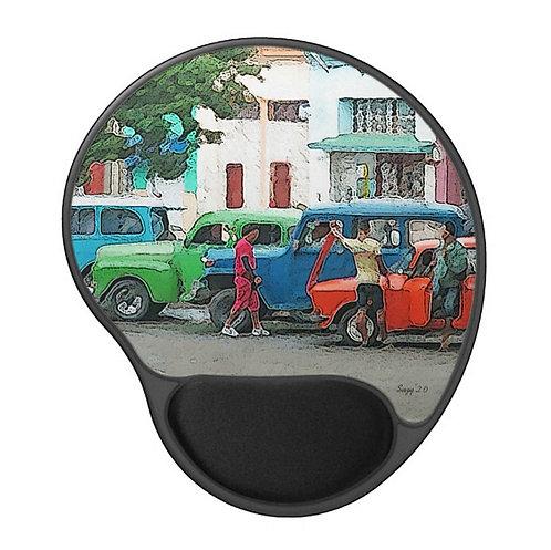 Cuban Life - Scenic Gel Mouse Pad
