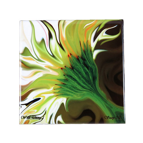 Wild Thing Floral Tile