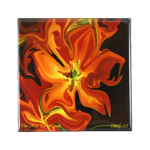 Too Hot To Handle Floral Tile