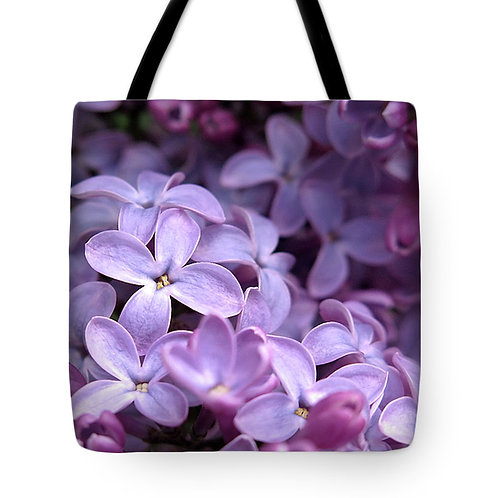 purple spring lilac tote by Suzy 2.0