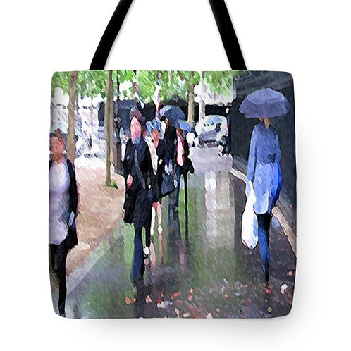 Impressionistic Paris tote bag by Suzy 2.0