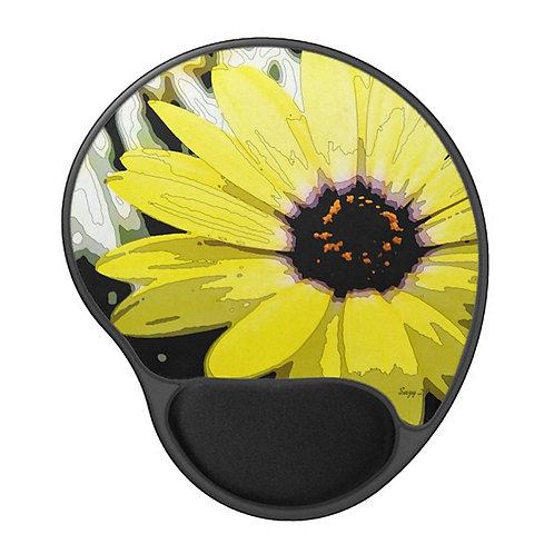 Sunshine - Flower Gel Mouse Pad