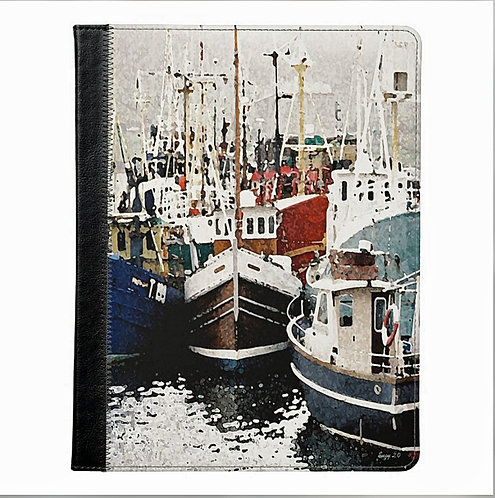 Fish Ahoy Scenic Tablet Case