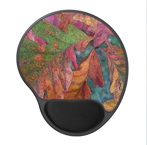 Fall Beauty - Leaf Gel Mouse Pad