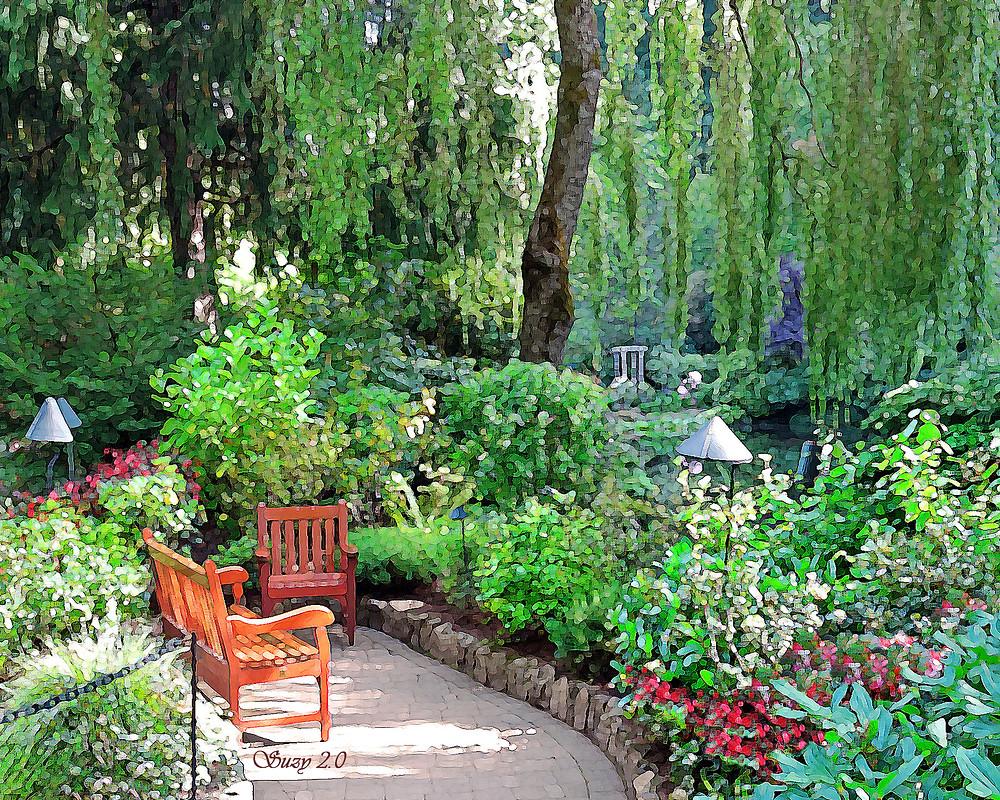 Butchart's Sunken Garden; Suzy 2.0