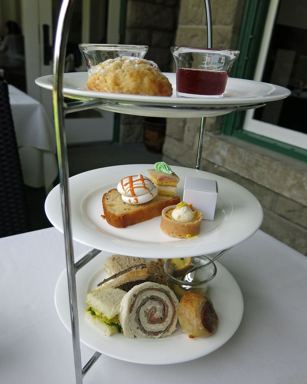 Butchart Gardens High Tea; Suzy 2.0