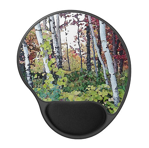Fall Undercover - Scenic Gel Mouse Pad