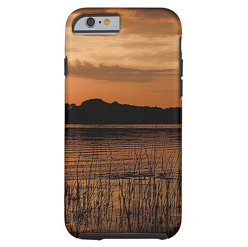 Flaming Waters Tough iPhone Case