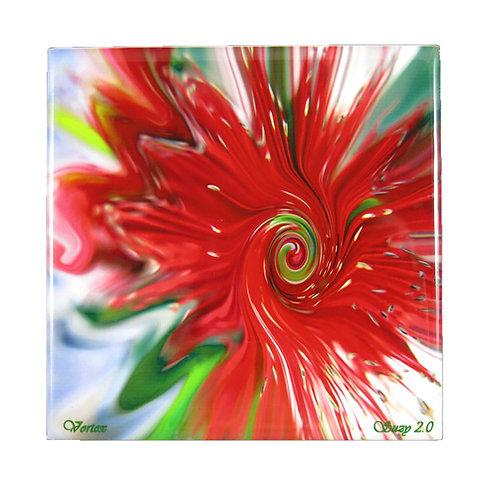 Vortex Floral Tile