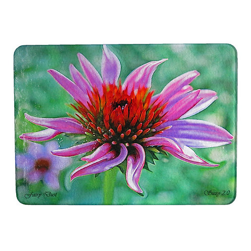 Abstract Purple Coneflower Cutting Board by Suzy 2.0