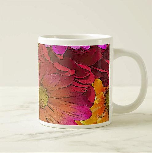 Suzy 2.0 Blooming Rainbow Daisy Mug Right