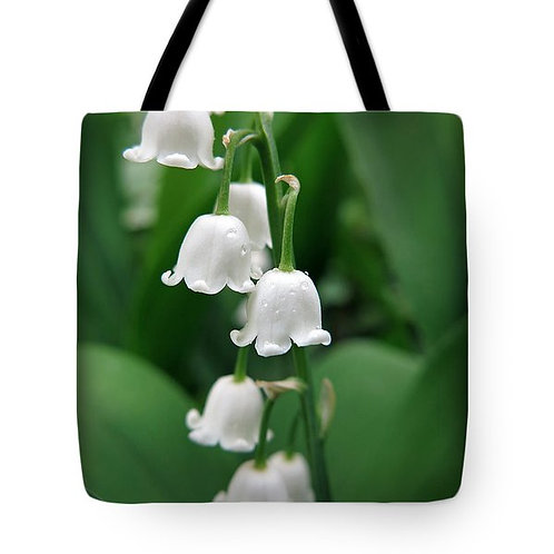 Lily of the Valley Tote Bag by Suzy 2.0