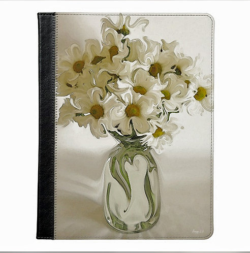 Dancing Heart Flower Tablet Case