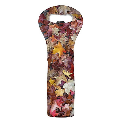 fall foliage wine tote by Suzy 2.0