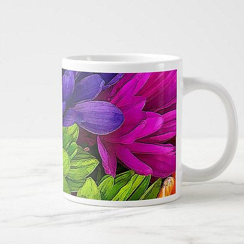 Suzy 2.0 Color Joy Daisy Mug Right