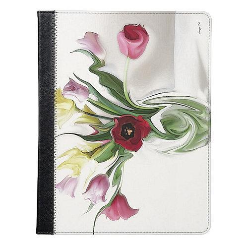 Viennese Waltz Flower Tablet Case