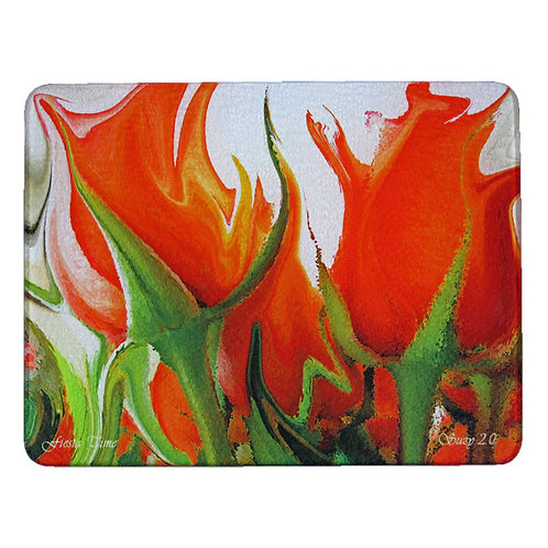 Abstract Rose Cutting Board by Suzy 2.0