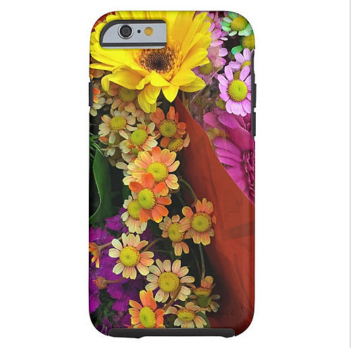 Painted Shades of Happiness Tough iPhone Case