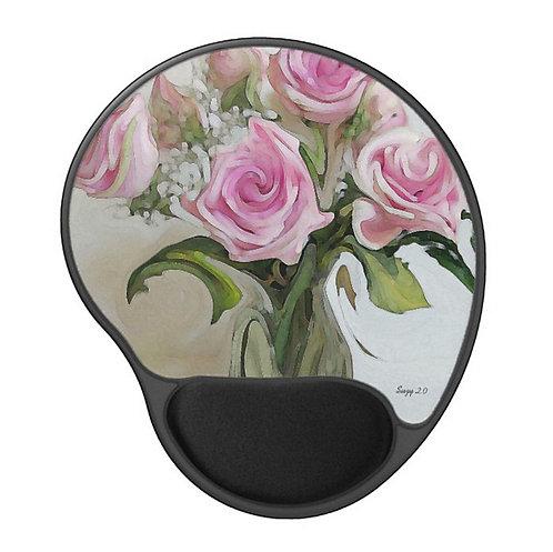 Whirling Dervish - Flower Gel Mouse Pad