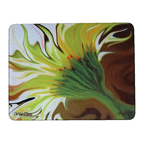 Yellow Abstract Gerbera Daisy Cutting Board by Suzy 2.0