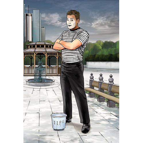 Mike the Mime Poster