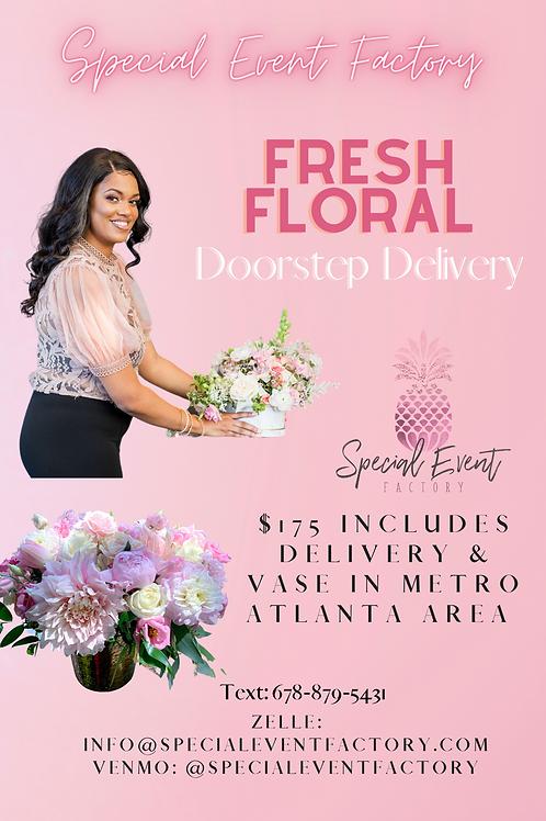 Doorstep Delivery Floral Arrangement
