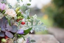 őszi menyasszonyi csokor