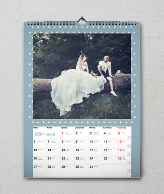 fali naptár