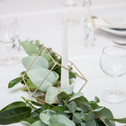 greenery and gold touch