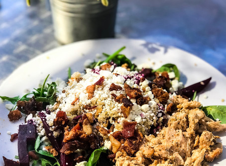 Healthy Eats and a Cozy Patio Make...The Perfect Pear