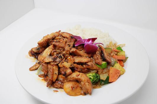 Spicy Chicken Hibachi