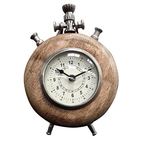 Reloj Redondo Bronce