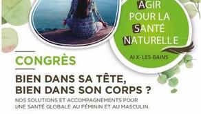 Congrès Agir pour la santé 2020 Aix Les Bains
