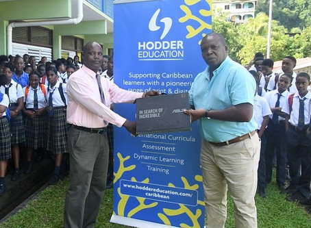 Petit Bordel Secondary School Receives Resources from Hodder Education