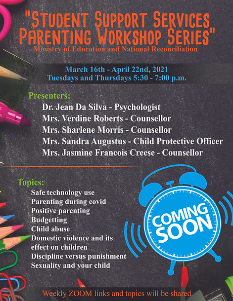 Student Support Parenting Workshop edite