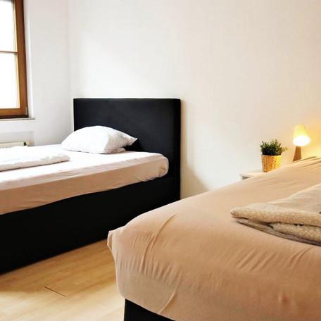 Unsere Betten bieten hohen Komfort.