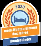 Vermieter des Jahres auf mein-Monteurzimmer in Deutschland..