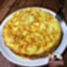 tortilla española AQUI MADRID RESTAURANTE