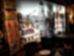 aqui madrid restaurante detalle sala bar