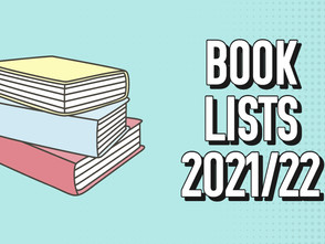Book Lists 2021/22 (All Years)
