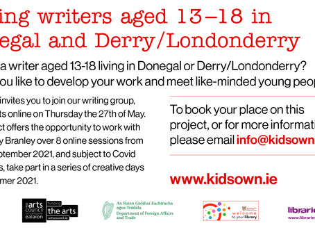 Calling All Writers Aged 13-18 (Kids' Own Writing Group)