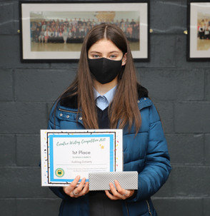 Aishling Doherty (TYB) Wins Read DL Creative Writing Competition