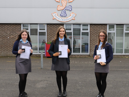 Fifth Year Pupils Receive Gaisce President's Award