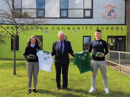 Hats off to Our Irish Internationals - Ellie & Luke
