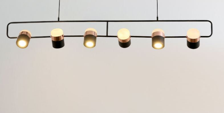 LED Adjustable Pendant Light with Various Sizes