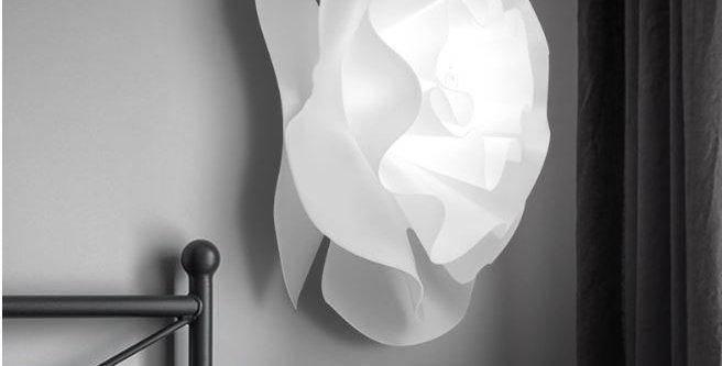 LED Acrylic Flower Wall Light Bed Light
