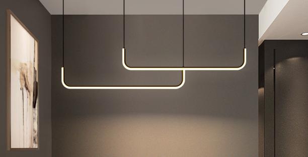 LED Modern Office Linear Pendant Light