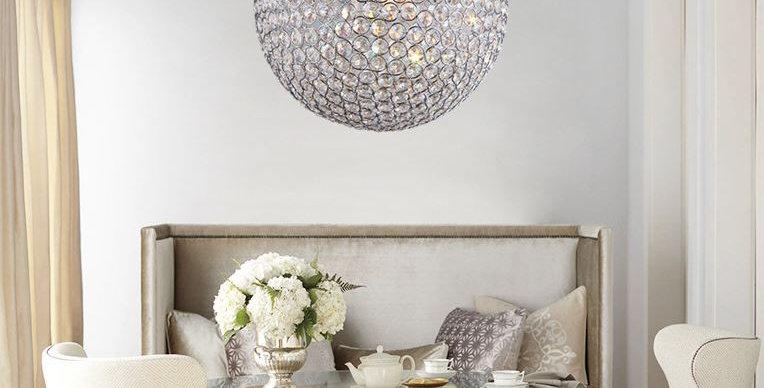Crystal Modern LED Pendant Light