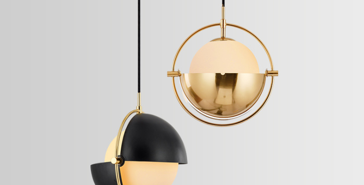 LED Creative 1/4 North-European Pendant Light