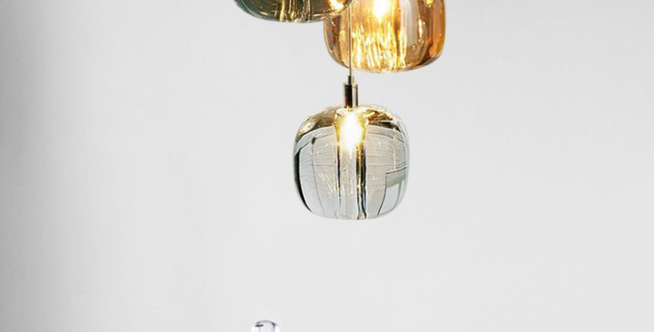 LED Post-modern Simple Lava Pendant Light